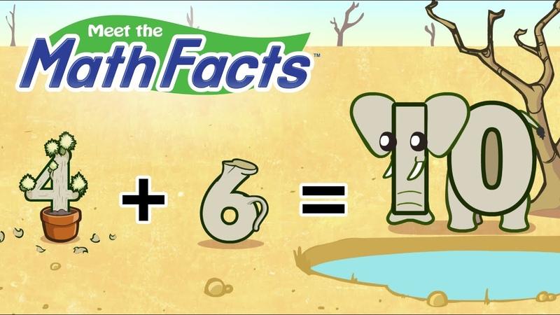 Meet the Math Facts Level 2 - 46=10