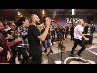 Rise Against + Moby - Skate Lab (Secret Show) - Minor Threat In My Eyes Cover