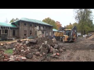 В парке Монрепо продолжается масштабная реставрация