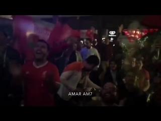 Egypt fans reaction to Mo Salah performance