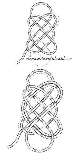 Плетение бельевых веревок