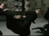 The Matrix Reloaded Agent Smith Fight