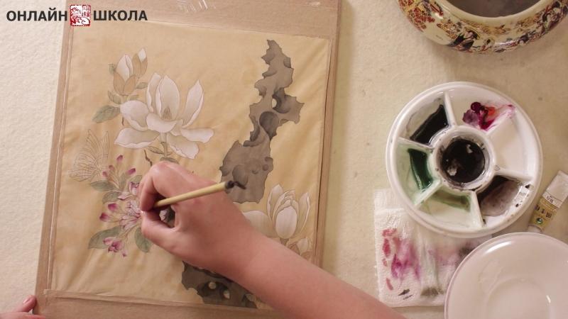 Приглашение и трейлер курса Учимся у древних мастеров ГУНБИ Чэнь Хуншоу 陈洪绶