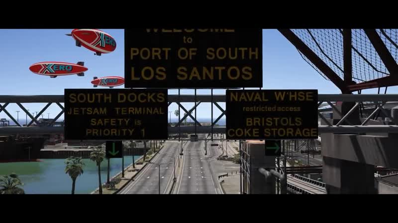 GTA 5 - NISSAN GTR DRIFT MONTAGE (Port of Los Santos Gymkhana)