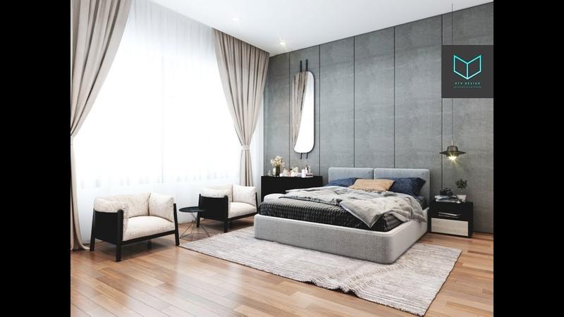 Modern Luxury Bedroom Tutorial 3ds Max Vray 3.6 Photoshop CS6 - PART 2