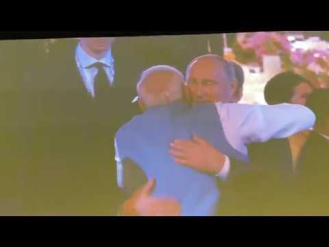 13.11.2018 Владимир Путин Встретил Моди на ужине АСЕАН