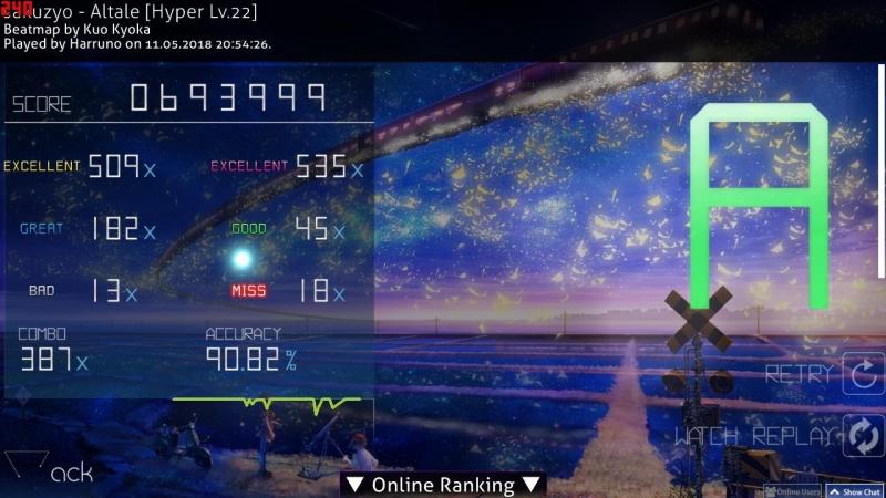 Osu!mania BMS sakuzyo - Altale 3.98 star