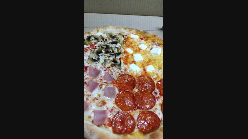 Пицца Кватро от oran g