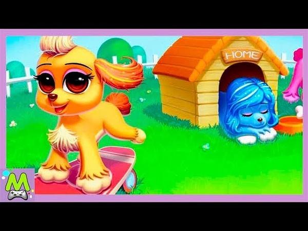 Моя Умная Собачка-Виртуальный Щенок Друг.Уход и Игры с Любимым Питомцем.Мультик Игра