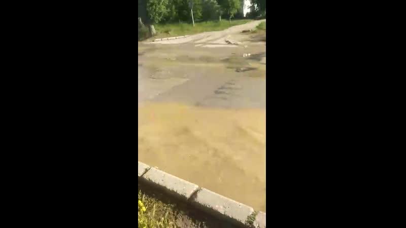 Потоп на башня. Приморский затопило, нецензурная брань!