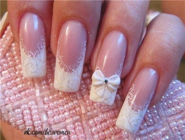 Свадебный маникюр и дизайн ногтей