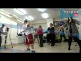 Беженка из Украины проходит кастинг челябинского шоу-балета толстушек