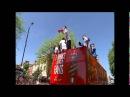 Arsenal fa cup bus parade Szczesny chanting