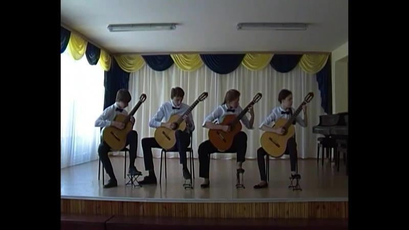 Ансамбль гитаристовКруиз, ДШИ №4, г.Орск, рук.Нефедова Л.В.