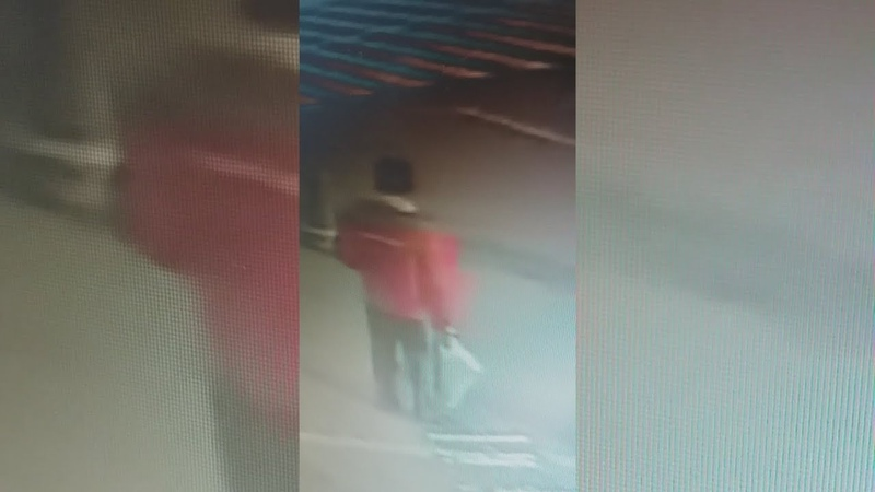 Кража Велосипеда с Охраняемой Парковки (Ашан - Киев 12.10.18) Видео с Камеры Наблюдения