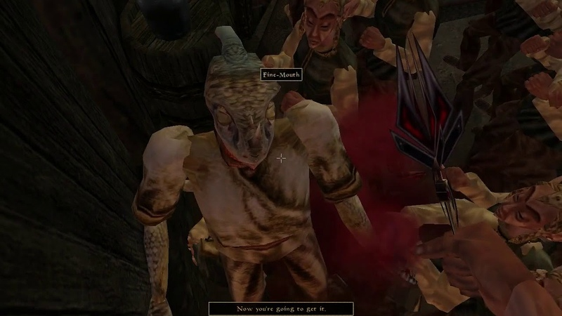 Morrowind 50 Fargoths versus the local population