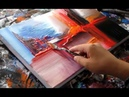 Abstract painting demonstration / Abstract art / R-12 by Roxer Vidal