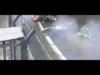 GP3 2014 Russia Sochi Massive Crash causing a red flag