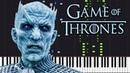 The Night King - Game of Thrones [Piano Tutorial] (Synthesia) // Akmigone