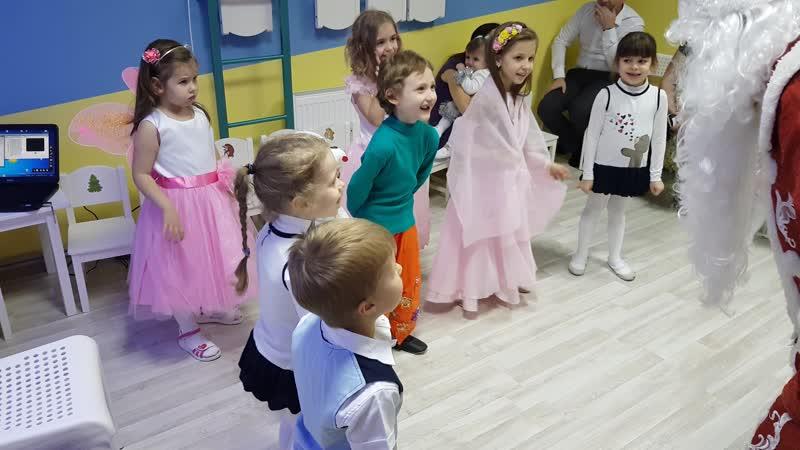 Новогодний праздник 2019 мини-сад Ростовская 19Б Часть 5