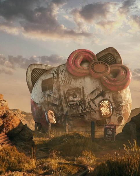 Апокалипсис поп-культуры в иллюстрациях Филиппа Ходаса.