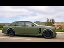 Modified Rolls Royce Phantom with $40k Wald Bodykit