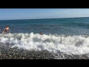 Черное море Настя