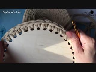 3 варианта обвязки донышка без ножниц - Лайфхаки вязания