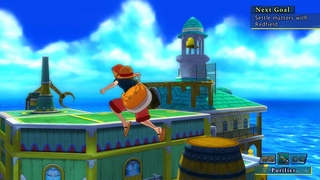 One piece: Unlimited World RED #18 Финальная битва старый Луффи и Вампир.