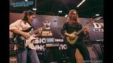 Li-sa-X &amp Kiko Loureiro DV Mark NAMM Booth - Anaheim, CA 1.27.19