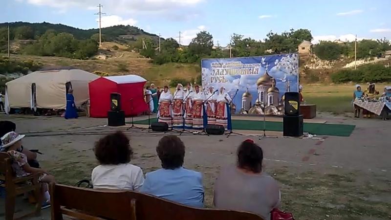 фестиваль '' Задушевная Русь''2018