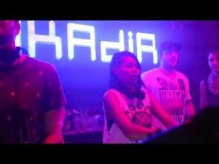Nakadia @ Sankeys Ibiza - Clarisse label night (ดีเจ นาคาเดีย)