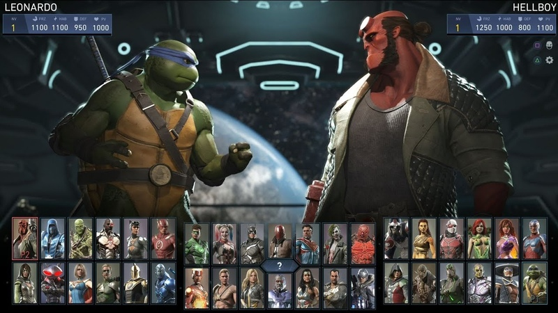 Injustice 2 - Todos los ataques especiales de los personajes DLC (1080p 60fps)