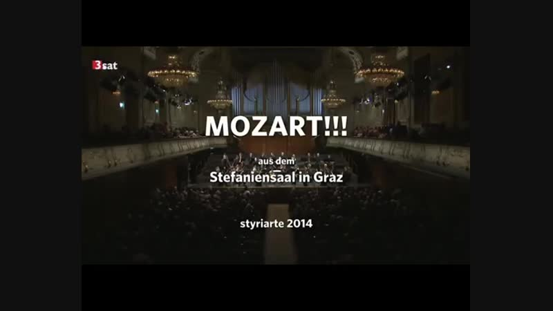 Harnoncourt conducts Mozart Symphonies No. 39 - 41