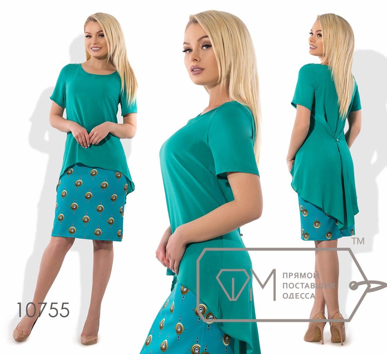Платье № 10755