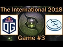 ЭПИК БИТВА за ФИНАЛ ВИННЕРОВ от ОГ и ЕГ OG vs EG Map 3 bo3 RU The International 8