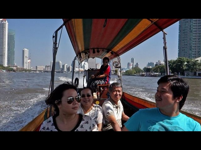 Bangkok Long Tail Boat Trip with Sony RX100 (updated audio)
