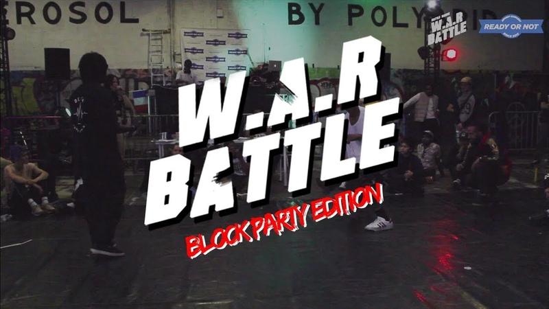 W.A.R BATTLE 2018 | Final Hip Hop | Spider (6td - The Shield) V.S Kevin Waël