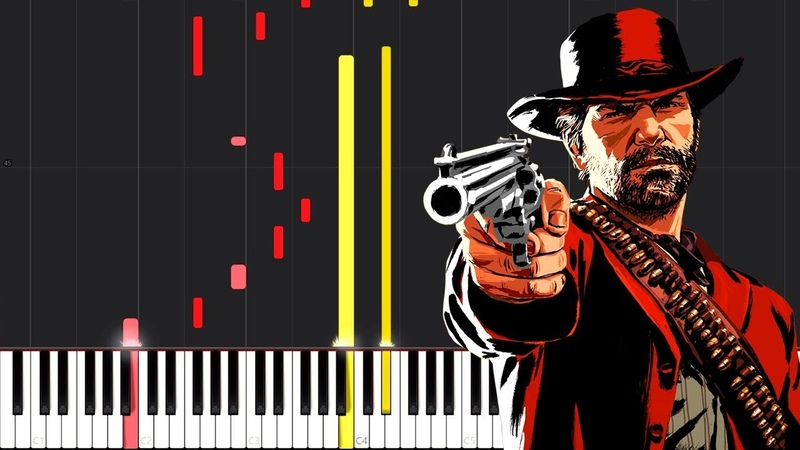 Thats The Way It Is - Red Dead Redemption 2 [Piano Tutorial] (Synthesia) Steffan Kaye