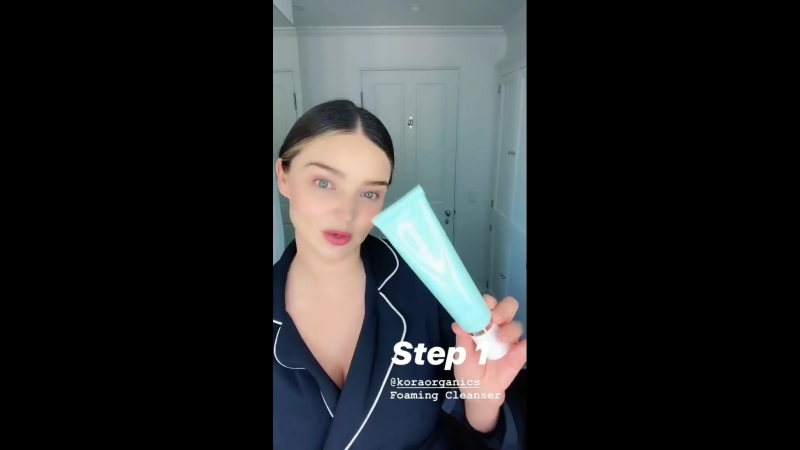 Instagram | Morning Skincare Routine | KORA Organics | 15 июля 2018
