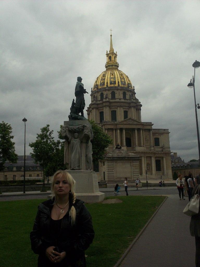 Елена Руденко. Франция. Париж. 2013 г. июнь. _jy9uVzNWL8