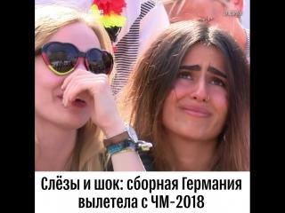 Реакция болельщиков на поражение сборной Германии