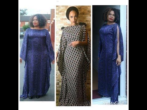 How To Make A Kaftan Dress\Bubu