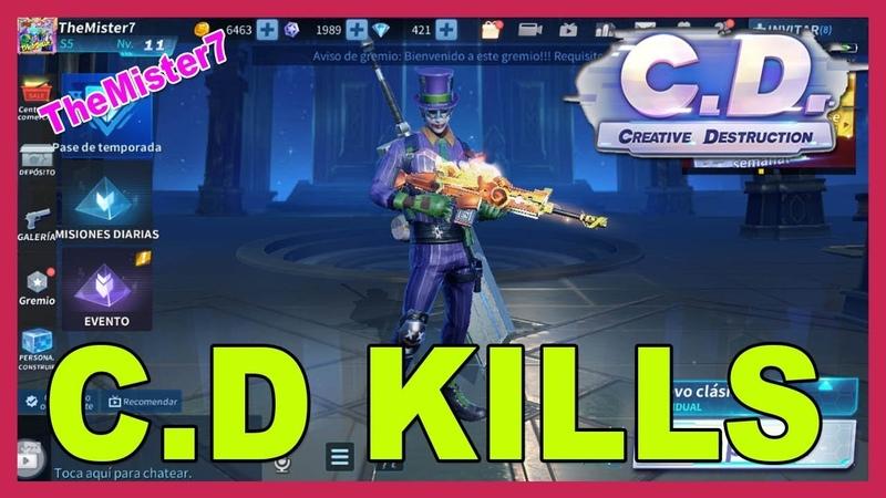 🔥 Creative Destruction【KILLS Fortcraft BATTLE ROYALE】▷ (Kills Compilation) CD Gameplay 👈👀👍