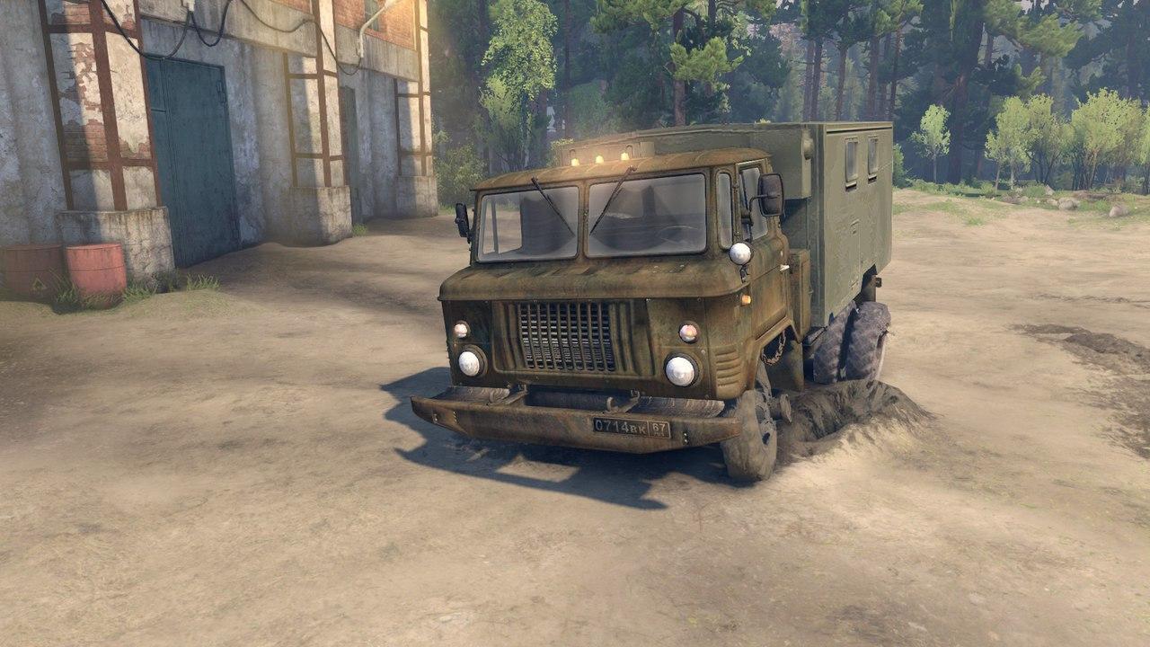 ГАЗ САЗ 3511-66 v1.1 для версии 13.04.15 для Spintires - Скриншот 2