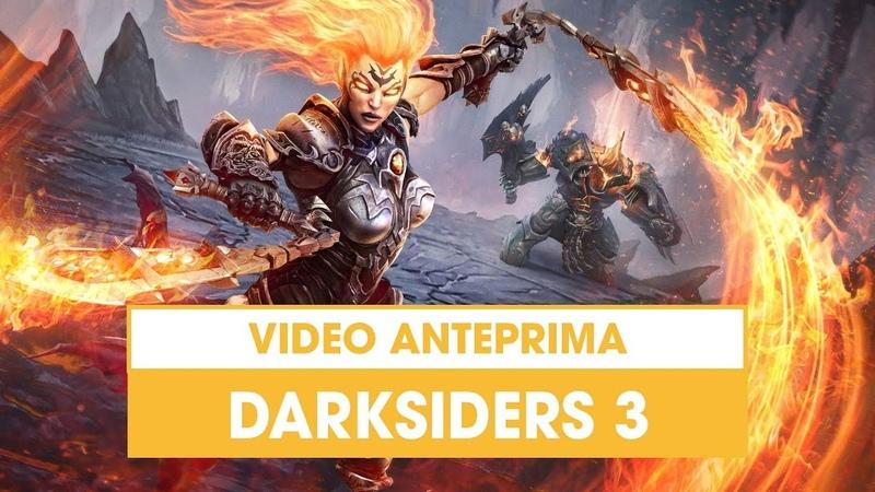 Darksiders 3 la Furia di THQ Nordic si scatena nella nuova Anteprima!