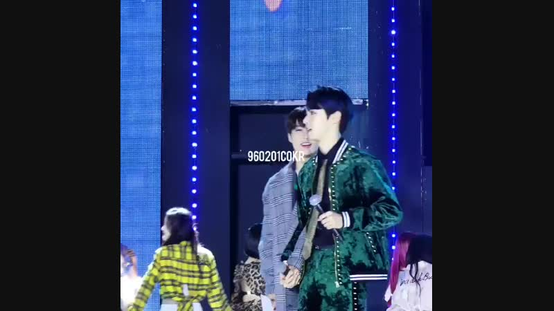 [fancam] 181023 Doyoung Jeno (NCT) @ The Show Encore