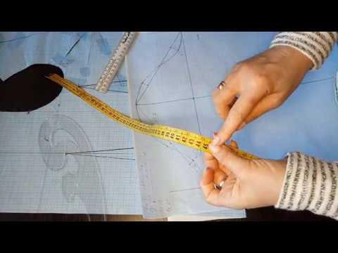 Построение рукава к базовой основе Самый легкий способ построения одношовного рукава