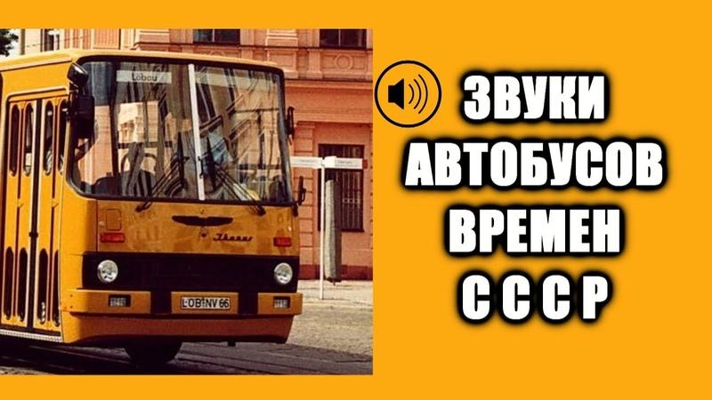 Звук автобуса времен СССР ЛиАЗ 677 Икарус ЛАЗ 695 ПАЗ КАВЗ USSR buses sound OMSI2 asmr