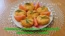 Овощные котлеты с крабовыми палочками и сыром. Vegetable cutlets with crab sticks and cheese.